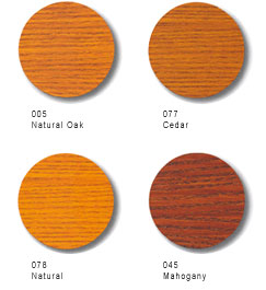 Cetol DEK Color Options