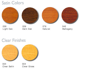 Cetol Door & Window Color Options