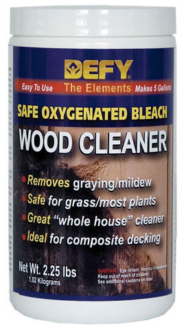 DEFY Oxygen Bleach Wood Cleaner