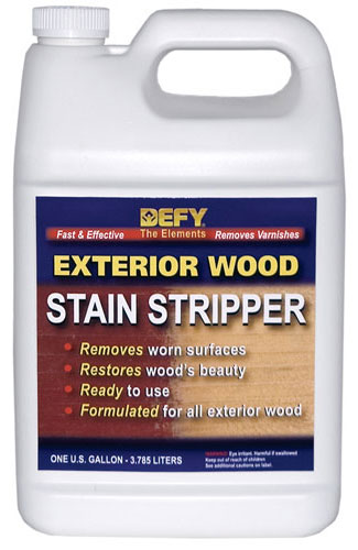 DEFY Exterior Wood Stain Stripper