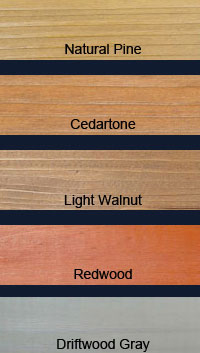 DEFY Epoxy Fortified Professional Wood Stain Colors