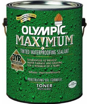 Olympic Maximum Toner Waterproofing Sealant