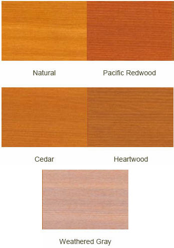 Cabot 3000 Series Wood Toned Deck & Siding Stain Colors
