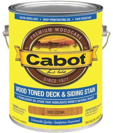 Cabot 3000 Series Wood Toned Deck & Siding Stain