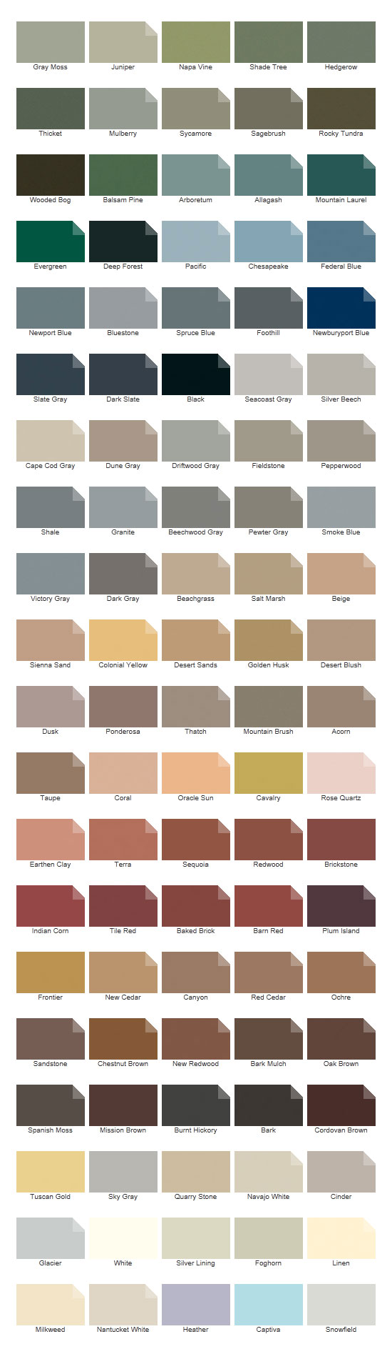 Exterior deck finishes deck stain sikkens cabot olympic - Cabot interior stain color chart ...