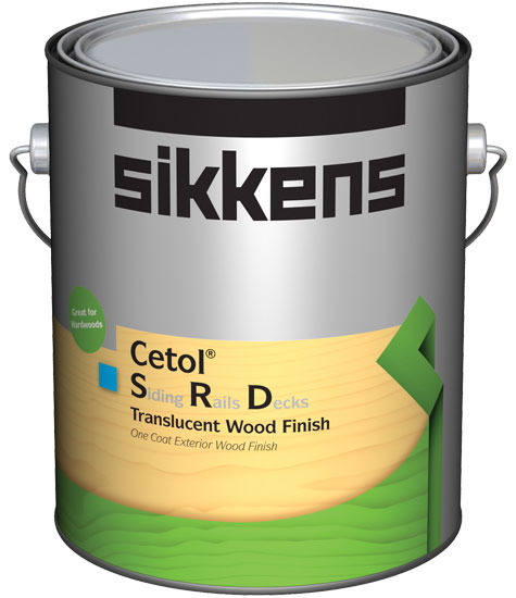 Sikkens Cetol SRD Is A One Coat, Translucent Exterior Wood Finish Created  For Use On A Wide Variety Of Surfaces. The Easy To Use Finish Has Excellent  UV ...
