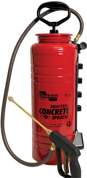 Chapin Industrial Viton Open Head Concrete Sprayer - 3.5 Gallon